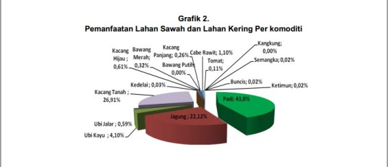 Data about the distribution of wetland in Pemenang