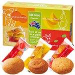 オーツ麦やブラウンライスなどのミネラルや食物繊維が豊富な自然派クッキー