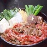 世界ブランド「松阪牛」のすき焼き用(肩・モモ)の味わいを