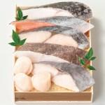 2020お中元 5,000円台  鈴波魚介みりん粕漬詰合せ 銀セ5A