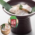 日本海で水揚げされた連子鯛を3枚におろし、塩締めした後味付けしました。