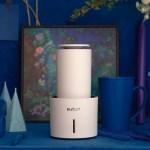 個人のための高性能空気清浄機。独自の光触媒機能で空気を除菌して脱臭