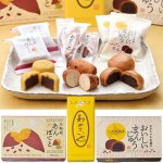 黒糖味の「おいしいまんじゅう」、和風スイートポテトの「北海道あんぽてと」