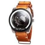 カメラレンズをモチーフにした腕時計 ★タックス 腕時計 NATO LENS