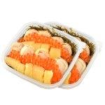 数の子、北海道産いくら、ほたてと超満足、豪華海鮮丼をご家庭で