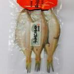 えてかれい一夜干大3尾 袋入り ¥1,134 (税込) 大田市沖で獲れ、前浜で水揚げ