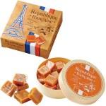 フランス料理に欠かせないゲランドの塩を使用した、上品な甘さの塩キャラメルです。