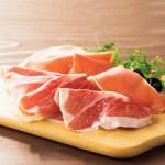 白豚のハモンセラーノと、イベリコ豚のハモンイベリコをセットで。