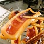 """お刺身でも食べられるイカを使用しているので""""焼く""""というよりは強めに炙る程度で"""