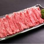 しゃぶしゃぶ用に薄めにカット。 【赤身肉】最高級A5ランク佐賀牛 (1kg)