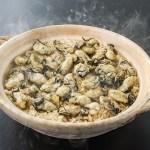 生食用かきを原料に使用したかきご飯の素。かなわ牡蠣たっぷり牡蠣ご飯の素