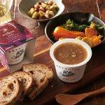北海道産「さらさらレッド」をコトコト煮込んだレッドオニオンスープ