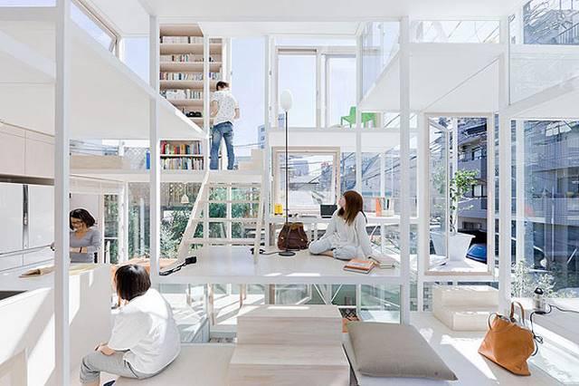 Rumah Transparan, Jepang