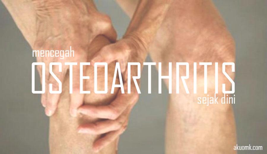 Pencegahan Osteoarthritis