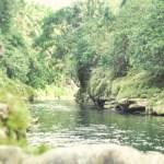 Sungai di Air Terjun Sri Gethuk