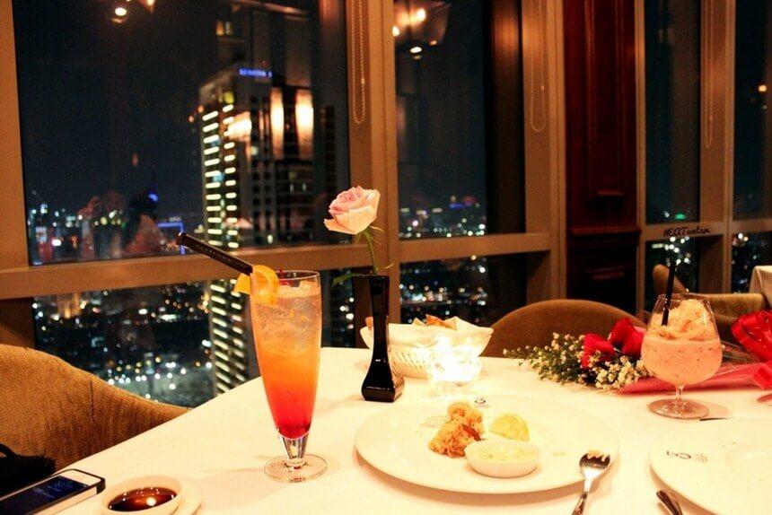 Gaia Restoran Romantis di Jakarta