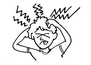 huvudvärk på engelska