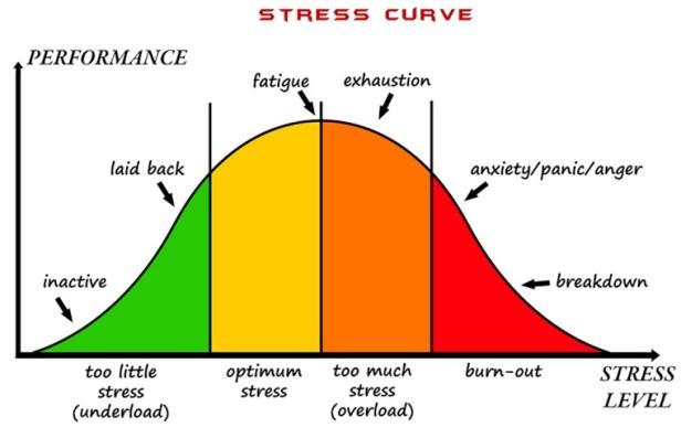 stress-kurva
