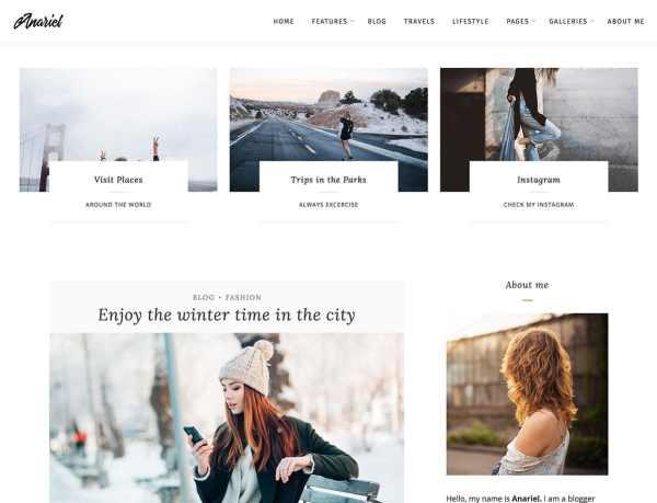 Anariel Theme WordPress