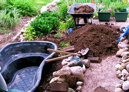 Строительство прудов водоемов