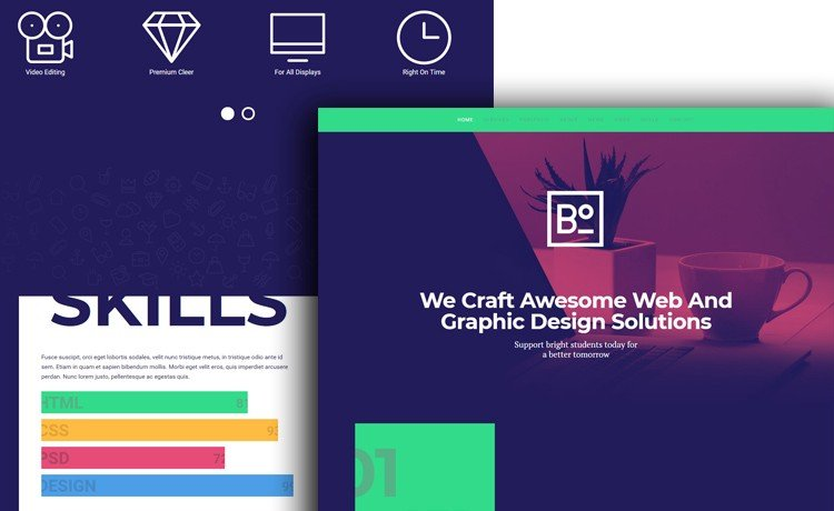 Boxus — Free HTML5 Bootstrap Template for Agency, Web Design, and Software Company