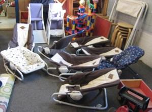 Indsamling af udstyr til forskole i Akwamu - Ghana. Akwamu's venner Danmark