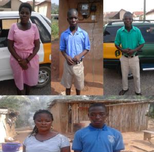 Blinde og døve i Ghana - har modtaget støtte