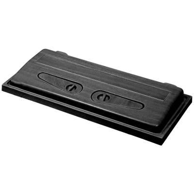 Pokrywa doakwarium 80x35, prosta, czarna firmy Wromak