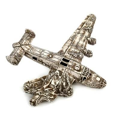 Ozdoba doakwarium, wrak amerykańskiego bombowca B-25 Mitchell