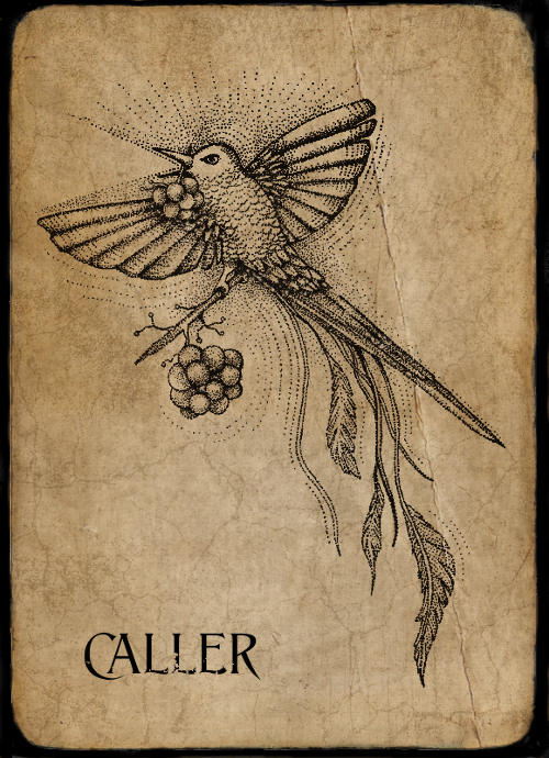 Caller Phantom Card - Art by Anna Campbell Art
