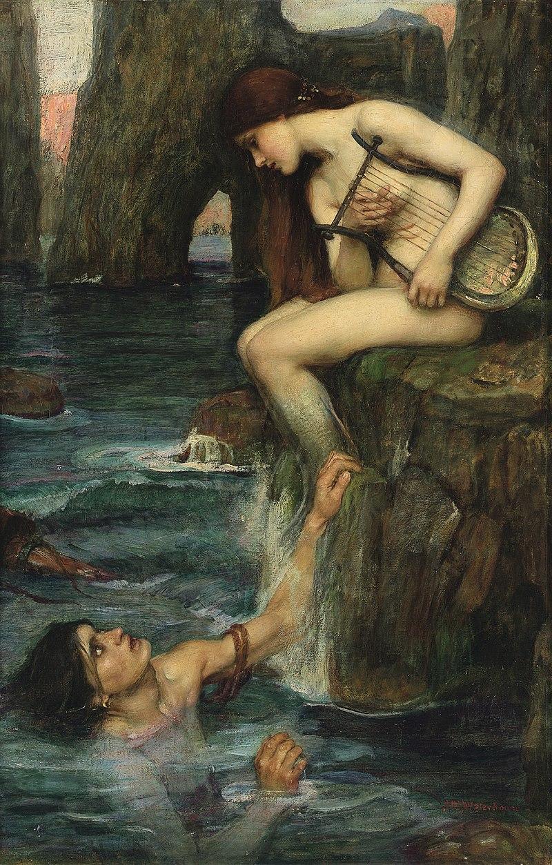 The Siren by John William Waterhouse 1900