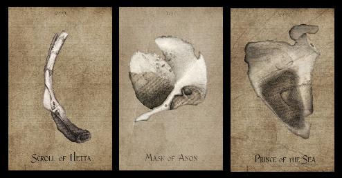 Three Card Whistle Bone Spread