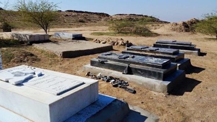 مجهولون يدمرون مقابر اخواننا ابناء الطائفة الصائبة