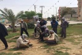 الحكومة الايرانية تبخس اجور العمال في الاحواز المحتلة