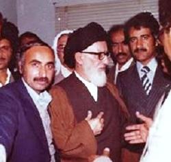 الشهيد شبل حمود الشرهان الطرفي - رئيس الوفد الأحوازي لطهران عام 1979