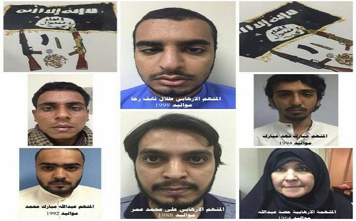 ضبط خلية ارهابية في دولة الكويت تعمل لصالح داعش