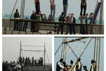 العدو الإيراني يعدم ٤ احوازيين