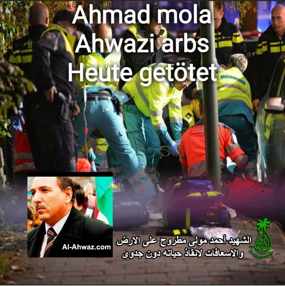 Ahwazi political activist shot dead in Netherlands
