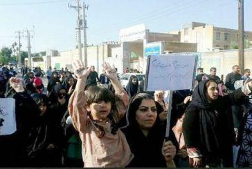 مظاهرات عمالية احوازية مطالبة بصرف رواتبهم