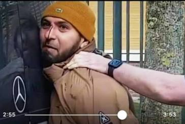 احوازيي هولندا يهاجمون سفارة العدو الايراني لضلوع العدو في عملية اغتيال الشهيد أحمد مولى
