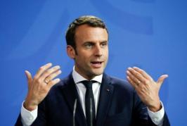الرئيس الفرنسي يتعهد بعدم السماح لإيران بامتلاك سلاح نووي