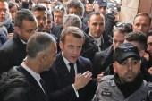ماكرون يوبخ عنصر أمن إسرائيلي في القدس: لا يجب أن يستفز أحدنا الآخر