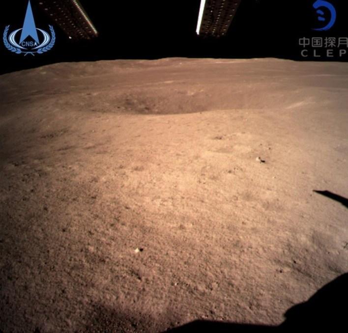 أول صورة للجانب البعيد من القمر (شينخوا)