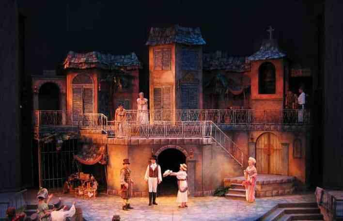 ديكور المسرح