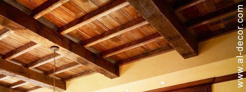 الأسقف الخشبية الإنشائية