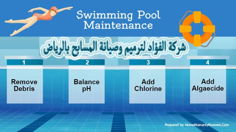 شركة تنظيف مسابح بالرياض 0532625892 تعقيم وتطهير وصيانة المسبح