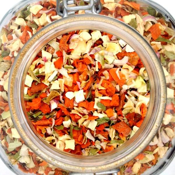 Sopa de verduras Juliana