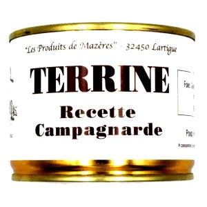 Paté Campagne Lata 200gr. Mazéres.