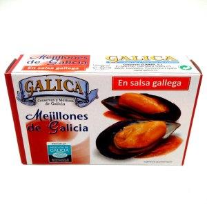Mejillones en salsa gallega (picante)