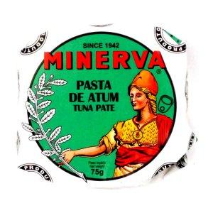 Paté de atún. Lata 75 gr. Minerva.